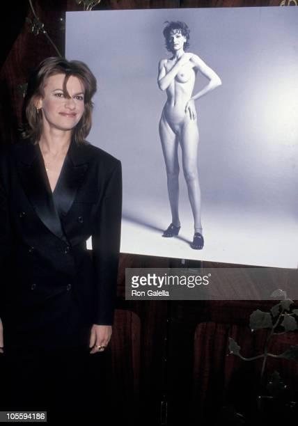 Sandra Bernhard during Valentine's Day Party February 9 1994 at Maxim's Restaurant in New York City New York United States