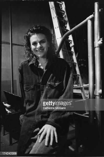 Sandra Bernhard poses for a portrait in 1988 in New York City New York