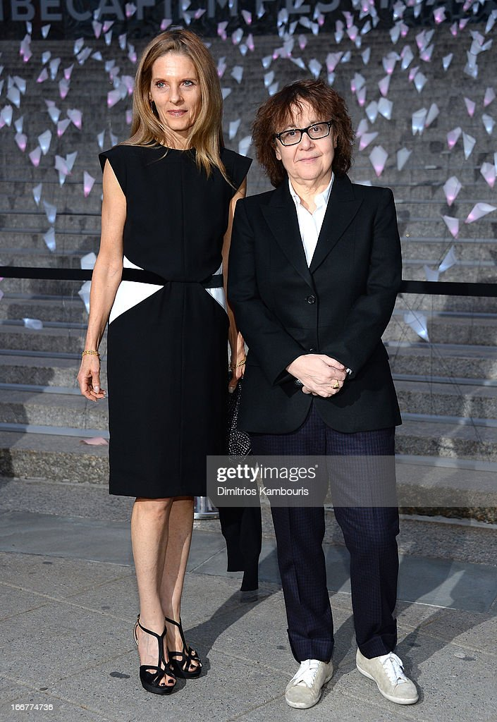 Sandra Brant and Ingrid Sischy attend Vanity Fair Party for the 2013 Tribeca Film Festival on April 16, 2013 in New York City.