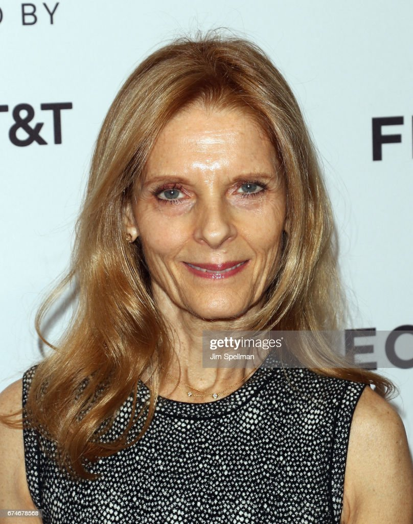 Sandra Brant attends the 'Julian Schnabel: A Private Portrait' screening during the 2017 Tribeca Film Festival at SVA Theatre on April 28, 2017 in New York City.
