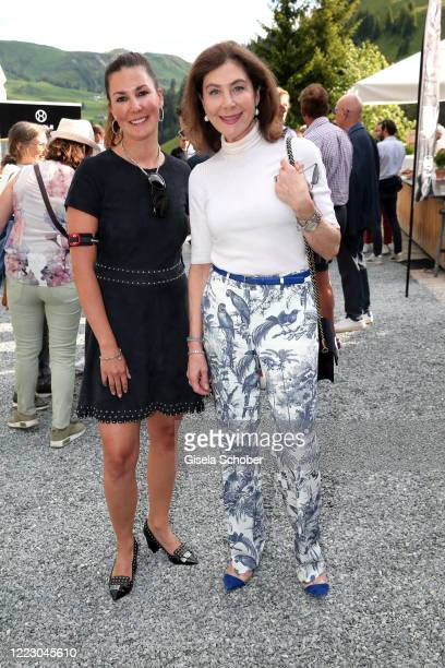 Sandra Brogle and Alexandra von Rehlingen during the first Ladies Day and start of the Queens Club hosted by Maria HoeflRiesch on June 26 2020 at...