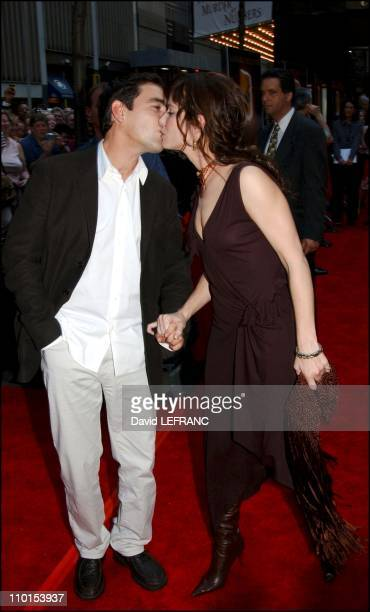 Sandra Bullock and Ben Chaplin at the Premiere of Murder by Numbers The premiere took place at the Ziegfeld Theatre in New York United States on...