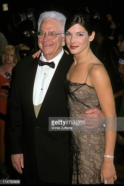 Sandra Bullock and father at the 1996 People's Choice Awards in Beverly Hills 02/10/96