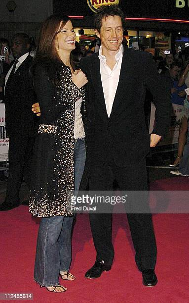 Sandra Bullock and Hugh Grant during 'Miss Congeniality 2' London Premiere at Vue Cinema in Leicester Square in London Great Britain