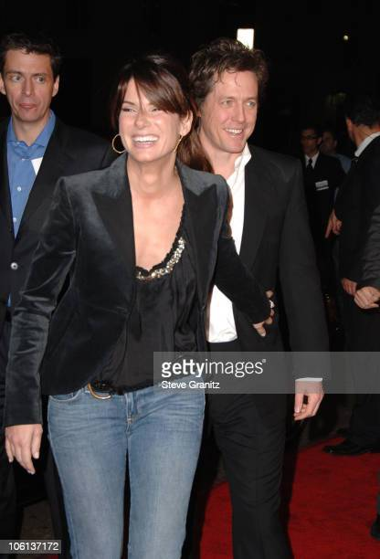 Sandra Bullock and Hugh Grant during 'Music and Lyrics' Los Angeles Premiere Arrivals at Grauman's Chinese Theatre in Hollywood California United...