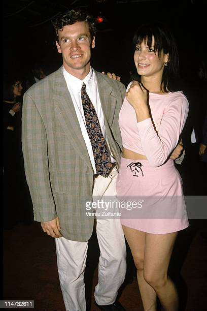 Sandra Bullock and Tate Donovan in LA 1994