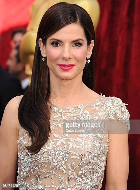 Sandra Bullock arrive at the 82nd Annual Academy Awards at the Kodak Theatre on March 7 2010 in Hollywood California on March 7 2010 in Hollywood...