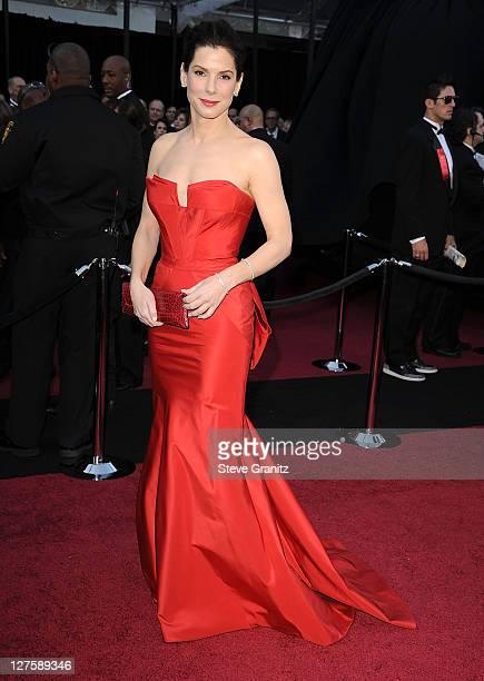 Sandra Bullock arrives at the 83rd Annual Academy Awards at the Kodak Theatre on February 27 2011 in Hollywood California