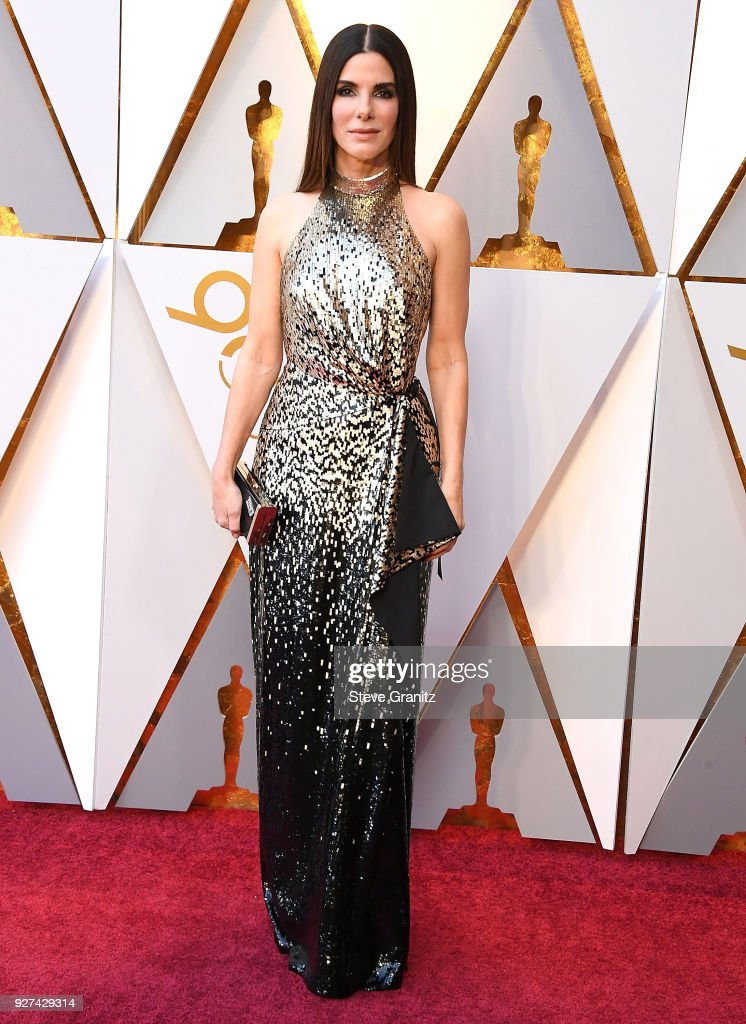 Sandra Bullock arrives at the 90th Annual Academy Awards at Hollywood & Highland Center on March 4, 2018 in Hollywood, California.