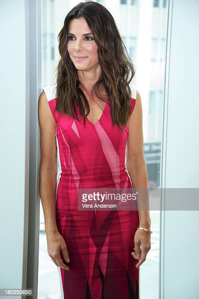 Sandra Bullock at the 'Gravity' Press Conference at the ShangriLa Hotel on September 9 2013 in Toronto Ontario