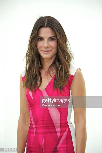 Sandra Bullock at the Gravity Press Conference at the ShangriLa Hotel on September 9 2013 in Toronto Ontario