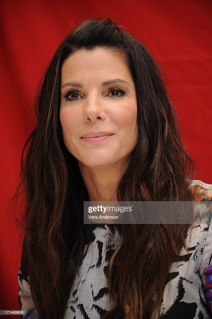 Sandra Bullock at 'The Heat' Press Conference at the Ritz Carlton Hotel on June 23, 2013 in New York City.
