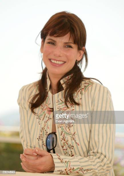 Sandra Bullock at the 'Murder By Numbers' Photo Call during the 55th Cannes Film Festival in Cannes France May 25 2002 Photo Evan Agostini/ImageDirect