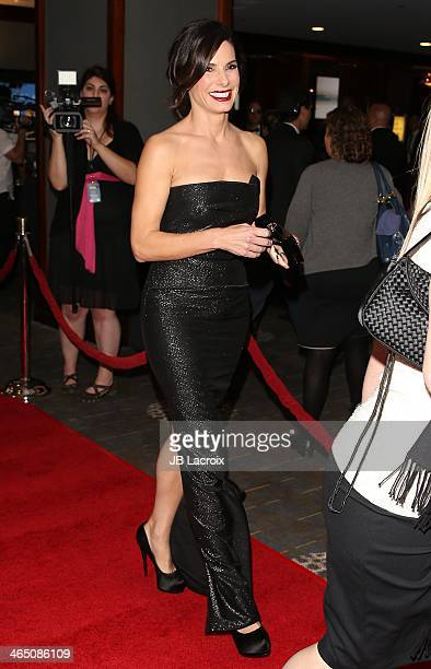 Sandra Bullock attends the 66th Annual Directors Guild Of America Awards held at the Hyatt Regency Century Plaza on January 25, 2014 in Century City,...