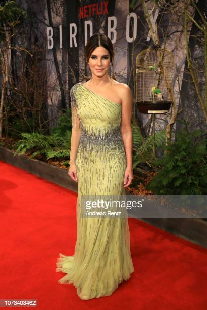 Sandra Bullock attends the European premiere of the film 'Bird Box' at Zoo Palast on November 27 2018 in Berlin Germany