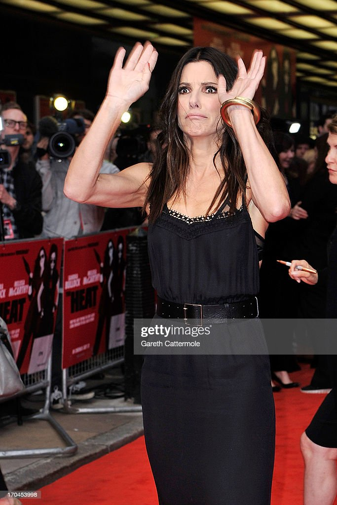 Sandra Bullock attends the gala screening of 'The Heat' at The Curzon Mayfair on June 13, 2013 in London, England.