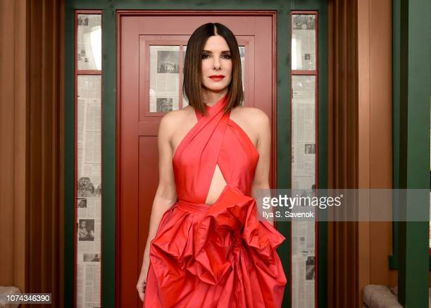 Sandra Bullock attends the New York Special Screening Of The Netflix Film BIRD BOX at Alice Tully Hall on December 17 2018 in New York City