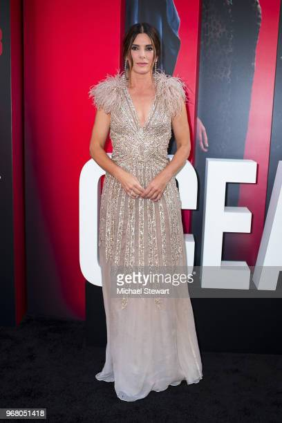 Sandra Bullock attends the 'Ocean's 8' World Premiere at Alice Tully Hall on June 5 2018 in New York City