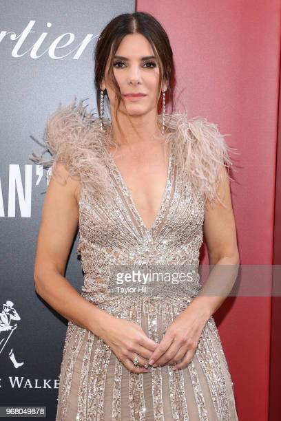 Sandra Bullock attends the world premiere of 'Ocean's 8' at Alice Tully Hall at Lincoln Center on June 5 2018 in New York City