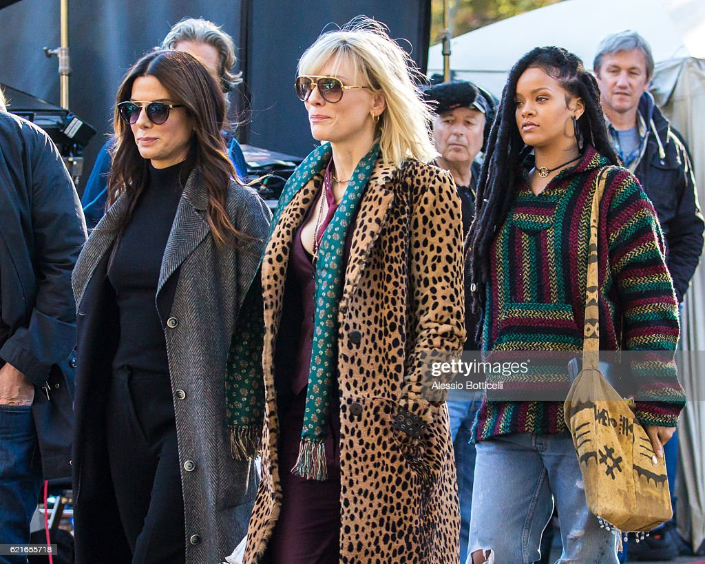 The all female Ocean's Eight is hitting the cinemas in early summer