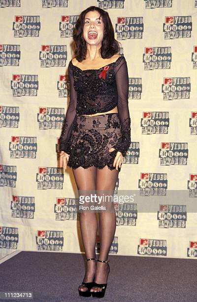 Sandra Bullock during 1994 MTV Video Music Awards in New York City New York United States