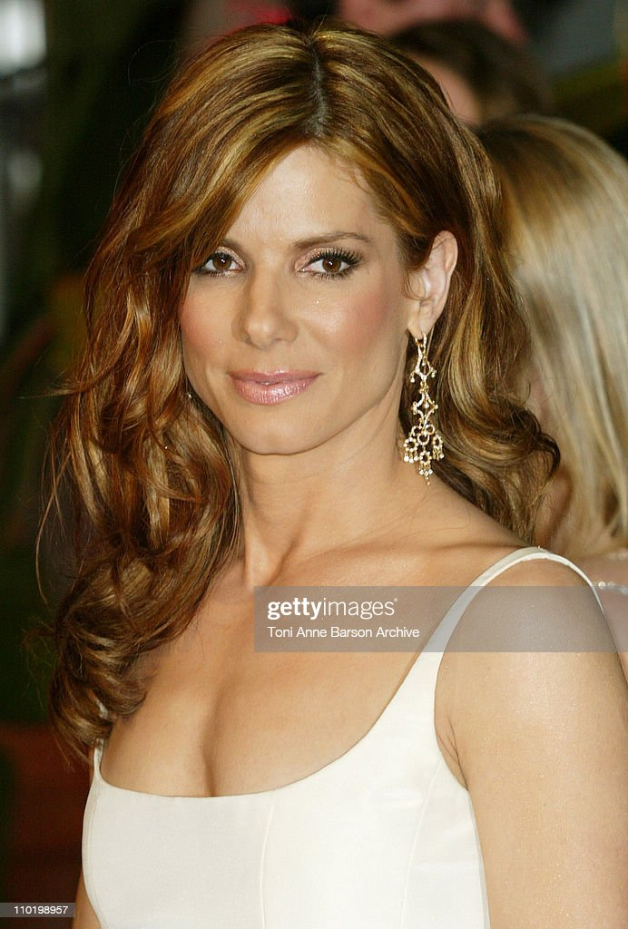 Sandra Bullock during 2004 Vanity Fair Oscar Party - Arrivals at Mortons in Beverly Hills, California, United States.