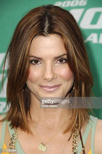 Sandra Bullock during 2006 MTV Movie Awards Arrivals at Sony Pictures in Culver City California United States