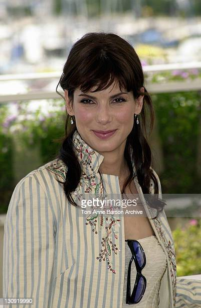 Sandra Bullock during Cannes 2002 'Murder by Numbers' Photo Call at Palais des Festivals in Cannes France