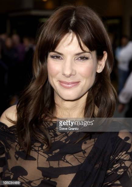 "Sandra Bullock during ""Divine Secrets Of The Ya-Ya Sisterhood"" Premiere at Mann Village Theatre in Westwood, California, United States."