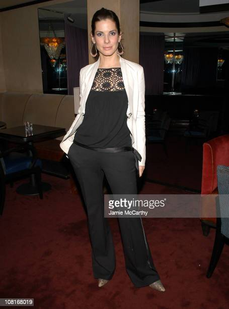 Sandra Bullock during InStyle Magazine Hosts the Miss Congeniality 2: Armed and Fabulous After Party at Frederick's in New York City, New York,...