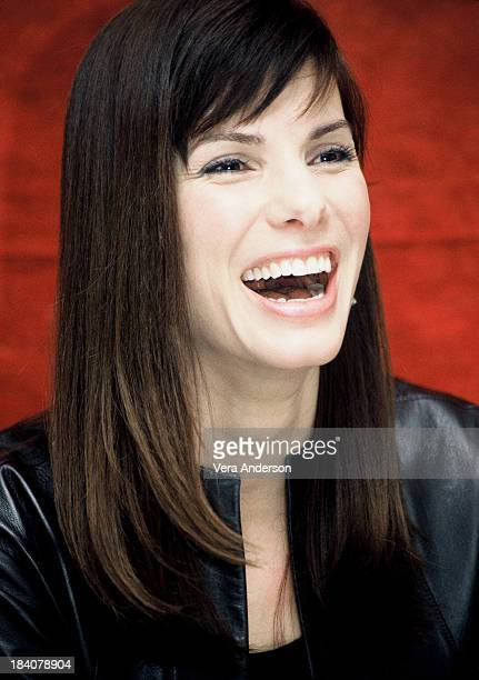 Sandra Bullock during Murder by Numbers Press Conference with Sandra Bullock and Michael Pitt at Rhiga Royal in New York City New York United States