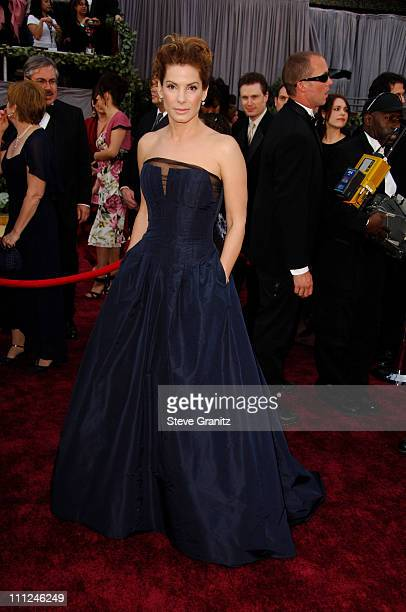 Sandra Bullock during The 78th Annual Academy Awards Arrivals at Kodak Theatre in Hollywood California United States