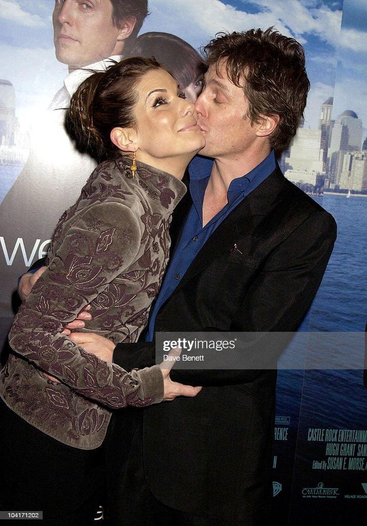 Sandra Bullock & Hugh Grant, 'Two Weeks Notice' Movie Premiere At The, Warner West End London