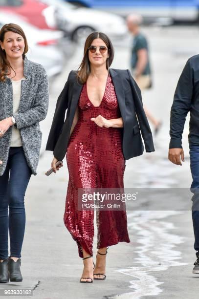 Sandra Bullock is seen on May 30 2018 in Los Angeles California
