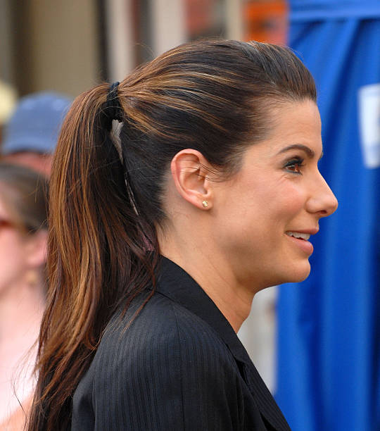 Sandra Bullock On Location For