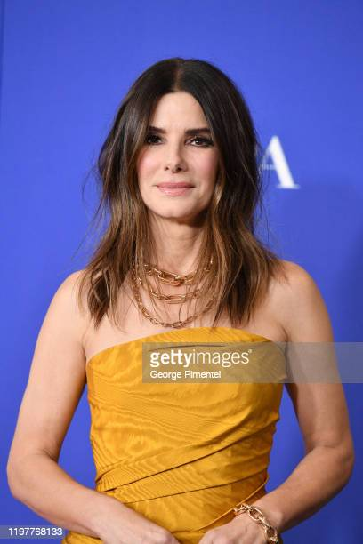 Sandra Bullock poses in the press room during the 77th Annual Golden Globe Awards at The Beverly Hilton Hotel on January 05 2020 in Beverly Hills...
