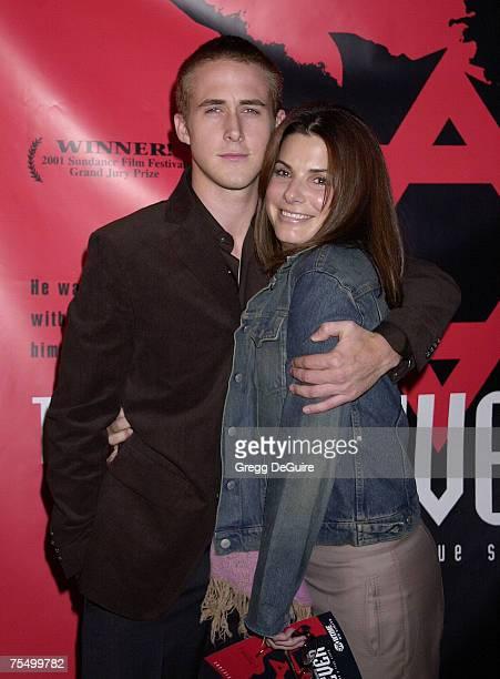Sandra Bullock Ryan Gosling at the Directors Guild of America in Los Angeles California
