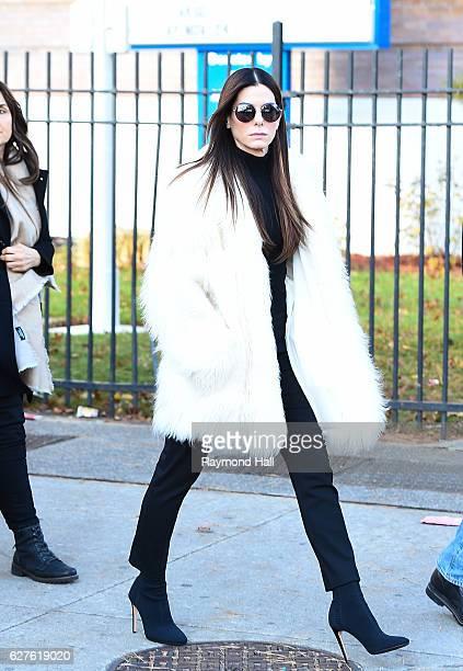 Sandra Bullock seen on December 3 2016 in New York City