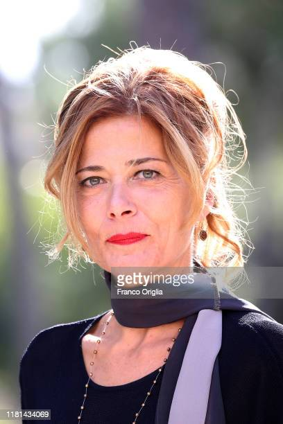 Sandra Ceccarelli attends the photocall of the movie Gli Anni Amari at Casa del Cinema on October 16 2019 in Rome Italy