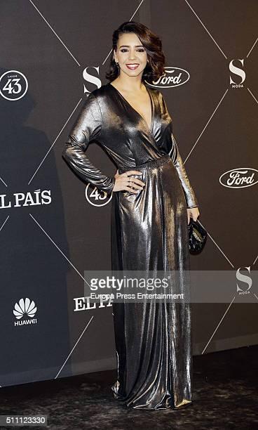 Sandra Cervera attend 'S Moda' Awards 2016 at Real Academia de Bellas Artes de San Fernando on February 17 2016 in Madrid Spain