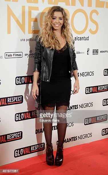 Sandra Cervera attends 'Diamantes Negros' premiere at Palafox cinema on November 25 2013 in Madrid Spain