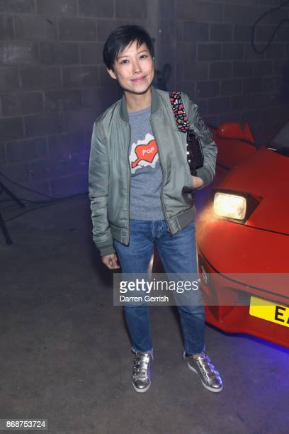 Sandra Choi attends Browns east launch party at 1a Chance Street on November 1 2017 in London England