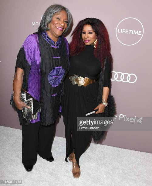 Sandra Coleman and Chaka Khan arrives at the Variety's 2019 Power Of Women Los Angeles Presented By Lifetime at the Beverly Wilshire Four Seasons...