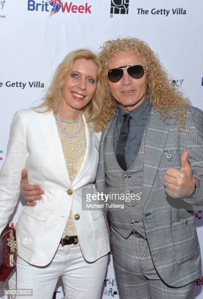 Sandra Cooke and Steve Cooke attend BritWeek at The Getty Villa on May 8 2018 in Pacific Palisades California