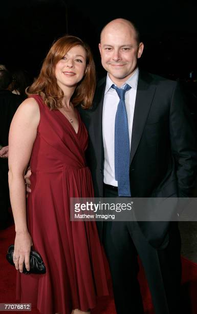 Sandra Corddry and Rob Corddry at the premiere of The Heartbreak Kid at Mann's Village Theater on September 27 2007 in Westwood California