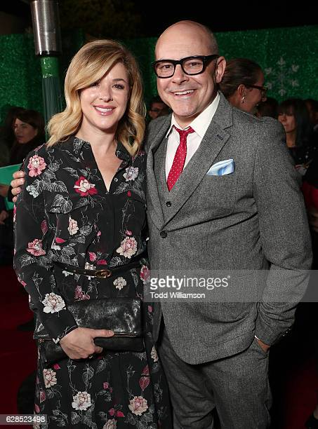 Sandra Corddry and Rob Corddry attend the Premiere of Paramount Pictures' Office Christmas Party at Regency Village Theatre on December 7 2016 in...