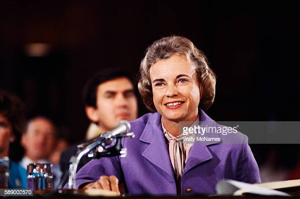 Sandra Day O'Connor at Confirmation Hearings