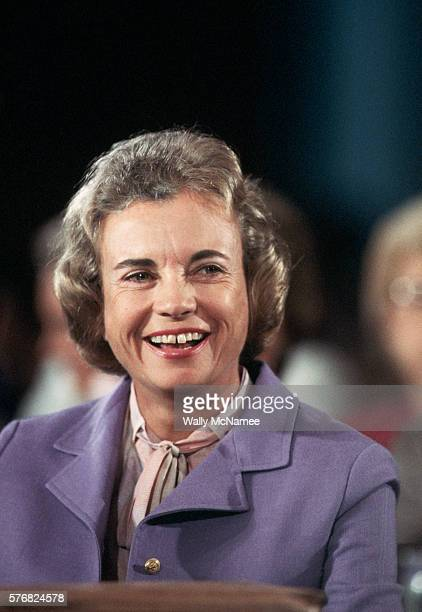 Sandra Day O'Connor, nominated to be an Associate Justice of the Supreme Court and coincidentally the first woman to serve on the Court, has a...