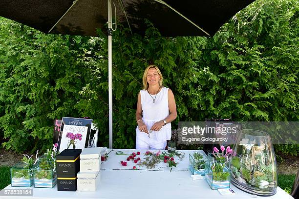 Sandra De Ovando attends the Hamptons Magazine London Jewelers Host a Luxury Shopping Afternoon on July 21 2016 in Wainscott New York