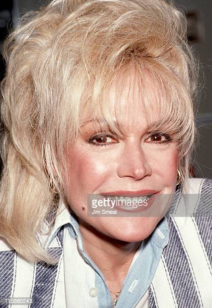 Sandra Dee during Love Letters Post Party May 14 1991 at Johnny Rockets Restaurant in Beverly Hills California United States